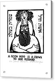 Jewish Proverbs Acrylic Print