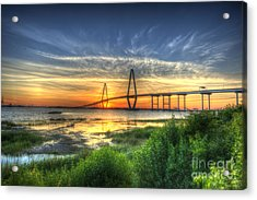 Lowcountry Sunset Acrylic Print