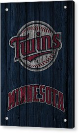 Minnesota Twins Acrylic Print by Joe Hamilton