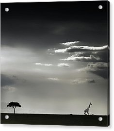 15 Minutes Of Happiness Acrylic Print by Piet Flour