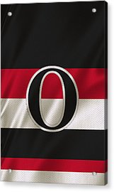 Ottawa Senators Acrylic Print by Joe Hamilton