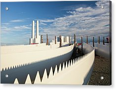 Parts For The Walney Offshore Wind Farm Acrylic Print