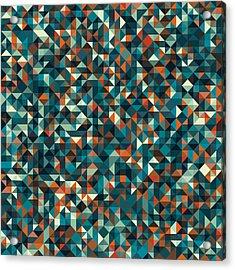 Retro Pixel Art Acrylic Print