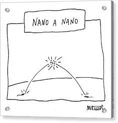 Nano A Nano Acrylic Print
