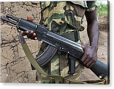 Burundi-peace Acrylic Print by Ton Koene
