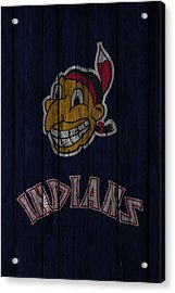 Cleveland Indians Acrylic Print by Joe Hamilton