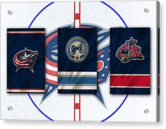 Columbus Blue Jackets Acrylic Print