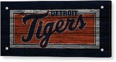 Detroit Tigers Acrylic Print by Joe Hamilton