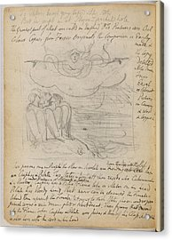 Notebook Of William Blake Acrylic Print by British Library