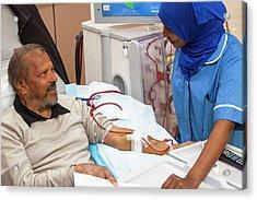 Shared Care Dialysis Unit Acrylic Print