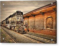 Locomotive 1637 Norfork Southern Acrylic Print