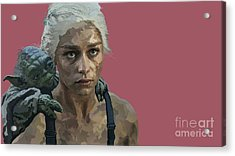 164. The Last Of The Dragons You Will Be Acrylic Print by Tam Hazlewood
