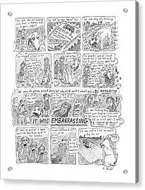 New Yorker November 12th, 2001 Acrylic Print