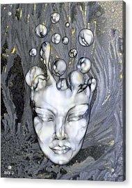 16x20 Slow Boil 014 Acrylic Print by Dia T