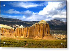 Capitol Reef National  Park Cathedral Valley Acrylic Print