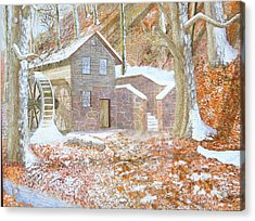 17 Centry Ghrist Mill Acrylic Print by Jim Ivey