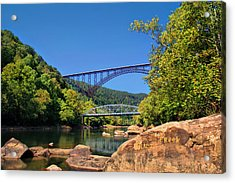 New River Gorge Bridge Acrylic Print