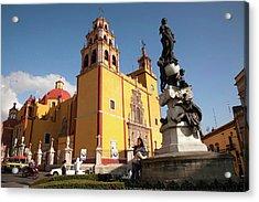 North America, Mexico, Guanajuato Acrylic Print by John and Lisa Merrill