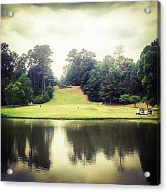 #17 The Bluffs #golf #iphone5 Acrylic Print