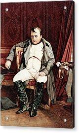 1700s 1800s Napoleon Bonaparte Seated Acrylic Print