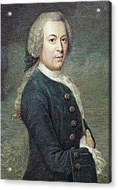 1759 Rosel Von Rosenhof Colour Portrait Acrylic Print by Paul D Stewart