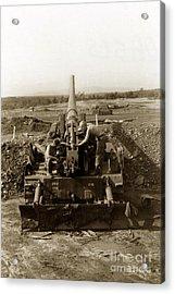 175mm Self Propelled Gun C 10 7-15th Field Artillery Vietnam 1968 Acrylic Print