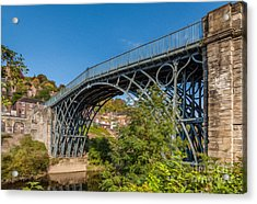 1779 Iron Bridge England Acrylic Print