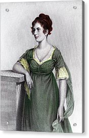 1790s Portrait Sally Foster Otis Acrylic Print