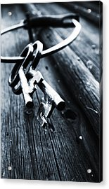 17th Centure House Keys Acrylic Print