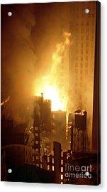 18 Alarm Hotel St George Fire Acrylic Print
