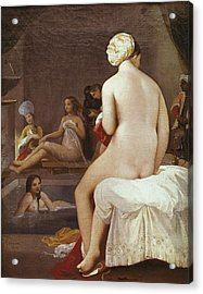 Ingres, Jean-auguste-dominique Acrylic Print by Everett