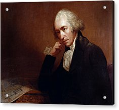 James Watt (1736-1819) Acrylic Print by Granger