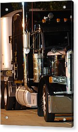 Acrylic Print featuring the photograph 18 Wheeler by Ramona Whiteaker