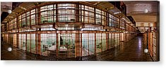 180 Degree View Of The Corridor Acrylic Print