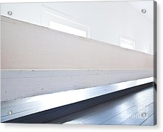 1800s Church In White And Grey Acrylic Print