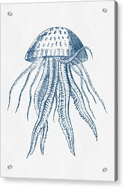 1844 Octopus Ink Drawing Acrylic Print