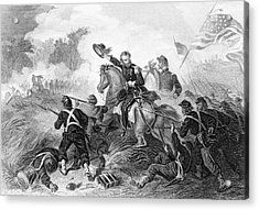 1860s August 1861 Battle Of Wilsons Acrylic Print