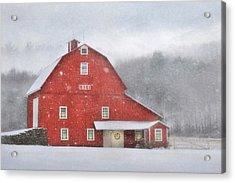 1884 Christmas Acrylic Print by Lori Deiter