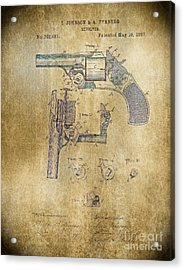 1887 Revolver Acrylic Print by Steven Parker