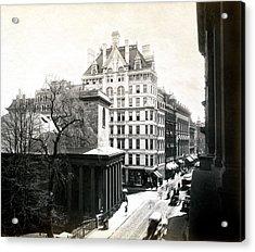 1890 Tremont Street Boston Acrylic Print