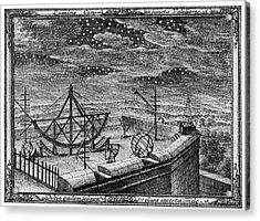 18th Century Observatory Acrylic Print