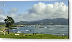 18th Hole Pebble Beach Acrylic Print