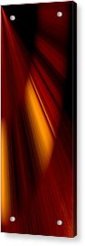 Abstract Art Acrylic Print by Heike Hultsch