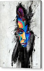 Facial Expressions Acrylic Print