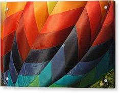 Hot Air Balloon Acrylic Print by Gary Marx