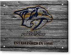 Nashville Predators Acrylic Print