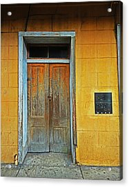 New Orleans Door Acrylic Print