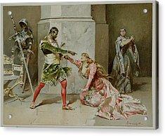 Othello. The Moor Of Venice Acrylic Print