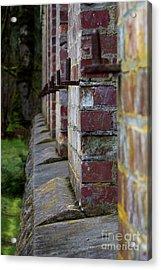 1900's Brick Wall Acrylic Print
