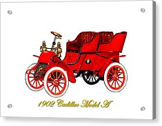 1902 Cadillac Model A Runabout Acrylic Print